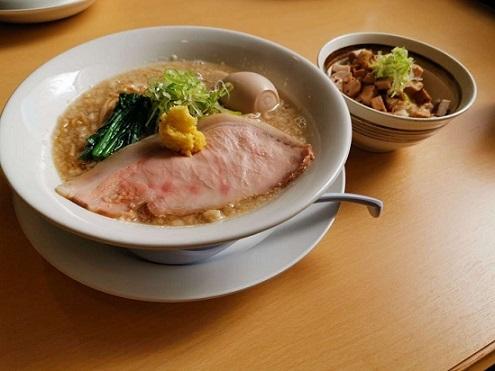 (裏)ジャンクマニア8 ど煮干しそば!!!+煮玉子